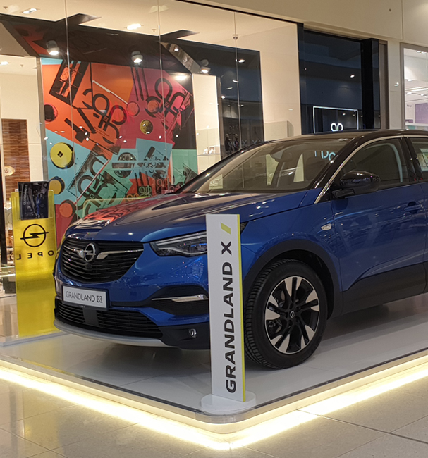 Opel Mall Activation 2021